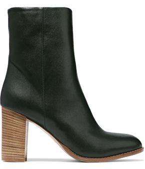 Iris & Ink Kiersten Leather Ankle Boots