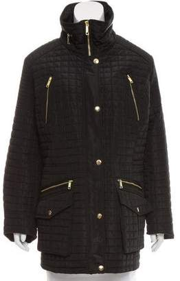 MICHAEL Michael Kors Quilted Mock Neck Jacket w/ Tags