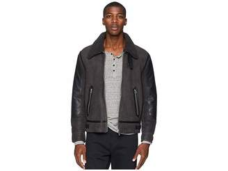 Paul Smith Collared Shearling Bomber Jacket