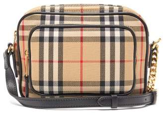 Burberry Vintage Check Cross Body Bag - Womens - Beige Multi