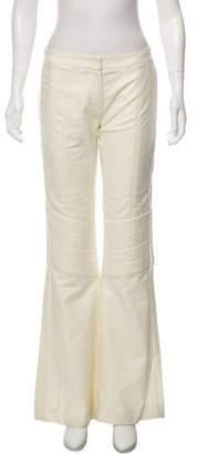 Prada Sport Mid-Rise Wide-Leg Pants