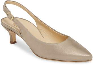 Paul Green Asia Metallic Slingback Pump