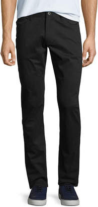 Emporio Armani Men's Stretch-Satin Straight-Leg Pants
