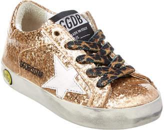 Golden Goose Accented Graffiti Sneaker