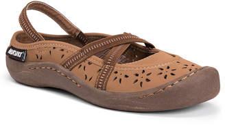 Muk Luks Erin Womens Slip-On Shoes Strap Closed Toe