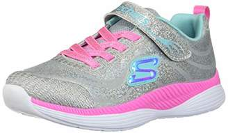 Skechers Girls' Move 'N Groove Trainers, (Grey Mint Gymn), 12.5 (31 EU)