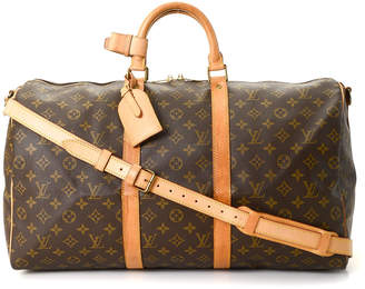 Louis Vuitton Keepall 50 Bandouliere Travel Bag - Vintage