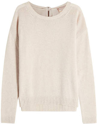 81 Hours Crispin Cashmere Pullover