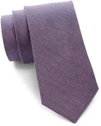 Calvin Klein Solid Woven Tie $65 thestylecure.com