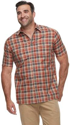 Croft & Barrow Big & Tall Regular-Fit Quick-Dry Woven Button-Down Shirt