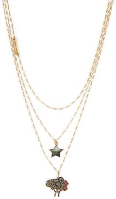Marc by Marc Jacobs Jewelry Women's Three-Tier Tree Star Necklace