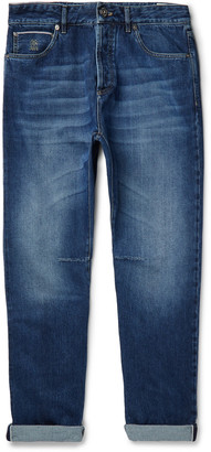 Brunello Cucinelli Slim-Fit Selvedge Denim Jeans - Men - Blue