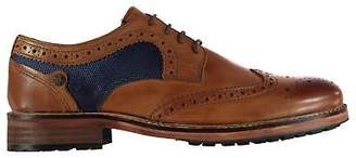 Original Penguin Mens Sage Brogues Lace Up Slight Heel Punch Hole