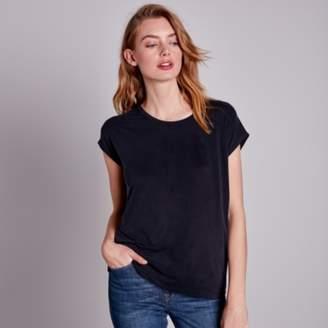 The White Company Cupro Scoop Neck T-Shirt