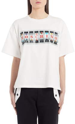 Moschino Slot Machine Graphic Tee