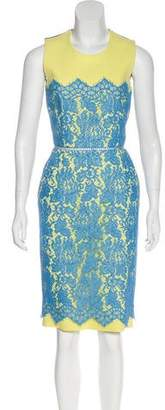 Preen by Thornton Bregazzi Preen Sleeveless Knee-Length Dress