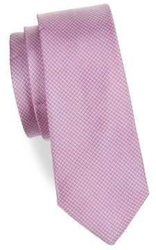Lauren Ralph Lauren Boy's Micro Check Silk Tie