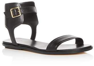 Cole Haan Women's Barra Leather Ankle Strap Sandals
