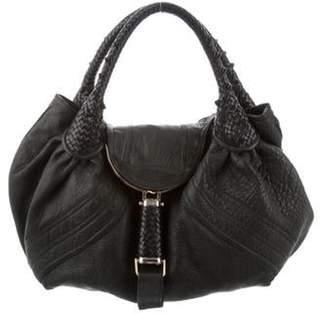 Fendi Leather Spy Bag Black Leather Spy Bag
