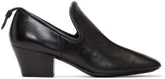 Lemaire Black Soft Loafer Heels