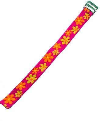 Timex Youth | Kids Elastic Strap | Pink, Orange & Yellow Floral Design Band Fits T7B151, T89022, T89001, TW7B99500, & More...