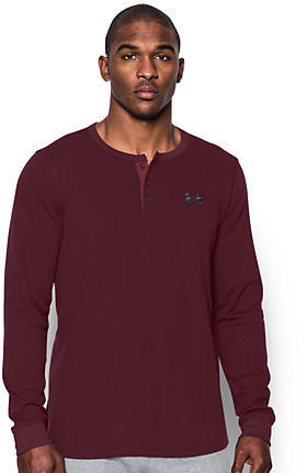 Under Armour Waffle Knit Henley T-Shirt
