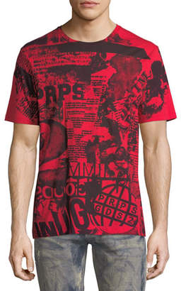 PRPS Graphic Notes Cotton T-Shirt