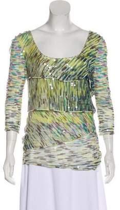 Missoni Embellished Long Sleeve Top
