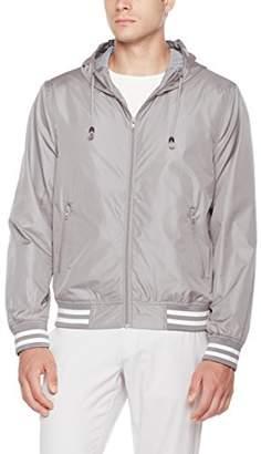 Otterline Men's Everyday Regular-Fit Light Weight Jacket with Hood L