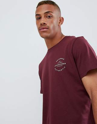 Jack and Jones Originals T-Shirt With Brand Logo