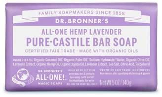 Dr Bronner Dr. Bronner's Organic Lavender Soap Bar 140g - No Colour