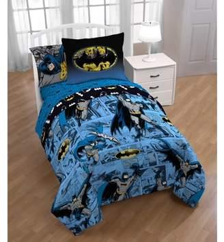 Warner Bros. Warner Brothers Batman 'Batman Comic' Twin Bed in a Bag Bedding Set with Bonus Tote