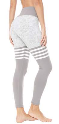 2f6e9e12a93c33 QUEENIEKE Women Yoga Leggings Knee-high Sock Workout Pants Running Tights  Size M Color