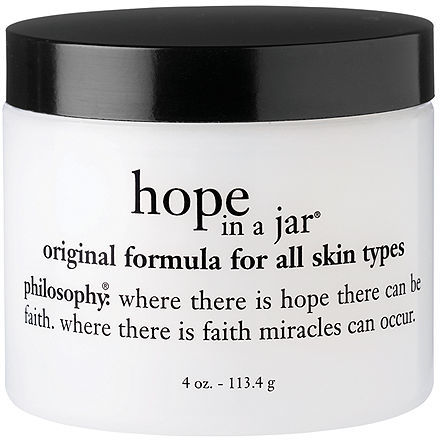 Philosophy hope in a jar original formula for all skin types 4 oz (118 ml)