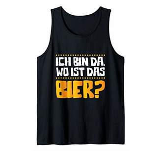 Ich Bin Wo IS Das Bier? Oktoberfest German Festival Gift Tank Top