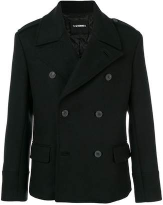 Les Hommes double breasted jacket