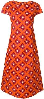 Aspesi floral printed shift dress