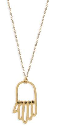 Black Diamond ICONERY x Rashida Jones Hamsa Pendant Necklace