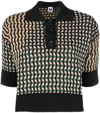 M Missoni cropped knit jumper