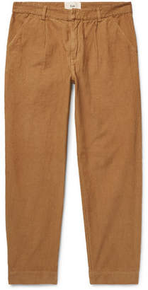 Folk Signal Cotton-Corduroy Trousers - Men - Camel