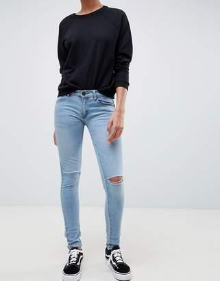 Criminal Damage Ripped Knee Skinny Jeans