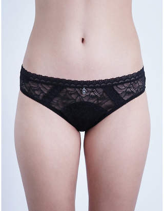 Implicite Intense stretch-lace tanga briefs