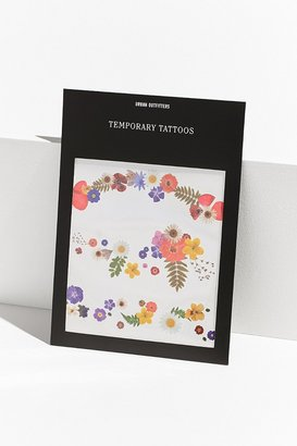 Urban Outfitters UO Floral Temporary Tattoo Set