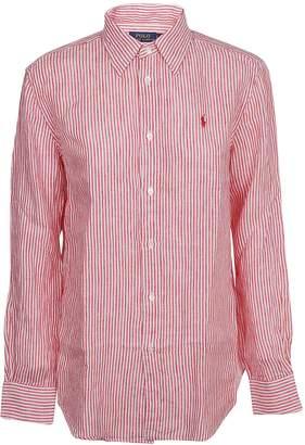 Ralph Lauren Striped Logo Shirt