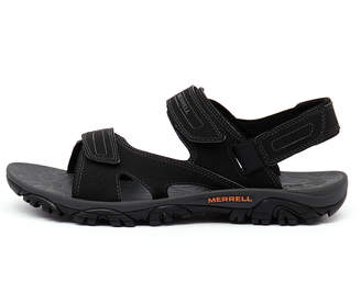 Merrell Mojave sport sandal Black Sandals Mens Shoes Casual Sandals-flat Sandals