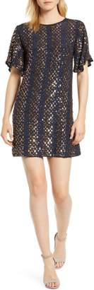 Velvet by Graham & Spencer Allover Sequin Minidress