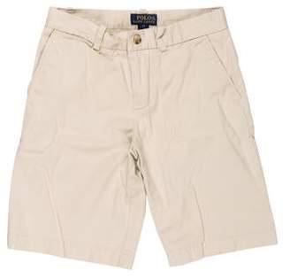 Polo Ralph Lauren Mid-Rise Knee-Length Shorts