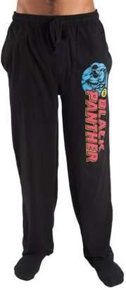 Men's Marvel Comics Black Panther Cotton Jersey Lounge Pajama Pant