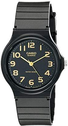 Casio Men's MQ24-1B2 Watch with Resin Band