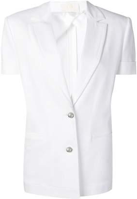 Sara Battaglia short sleeved blazer